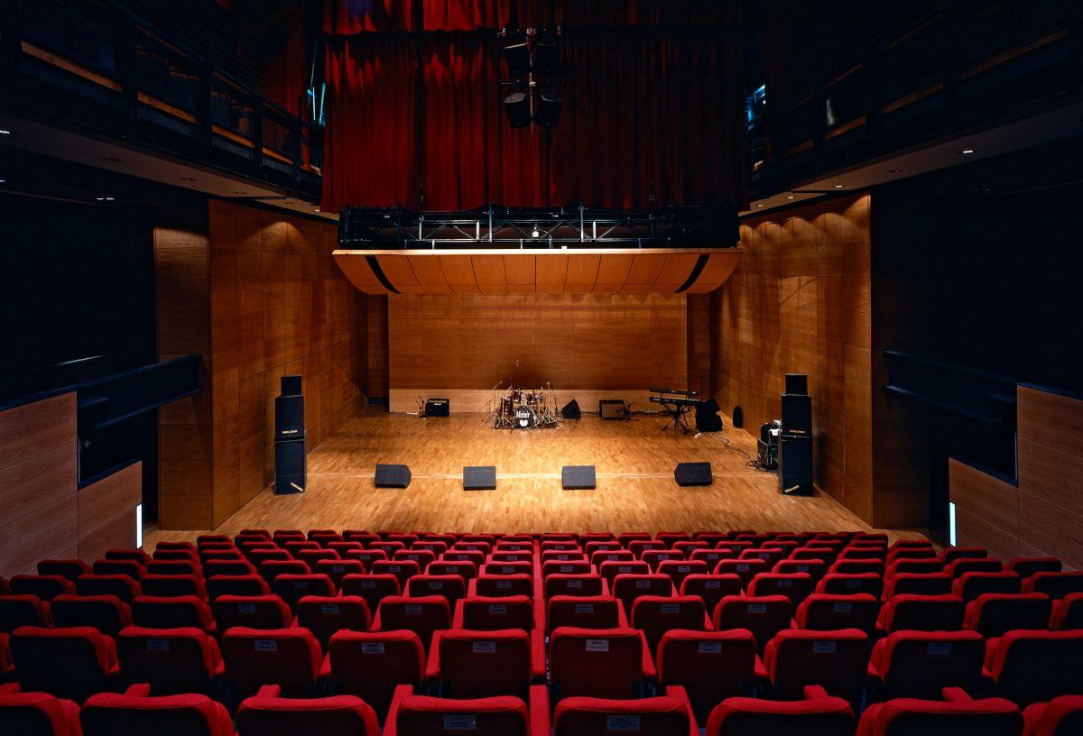 Interior of theatre space