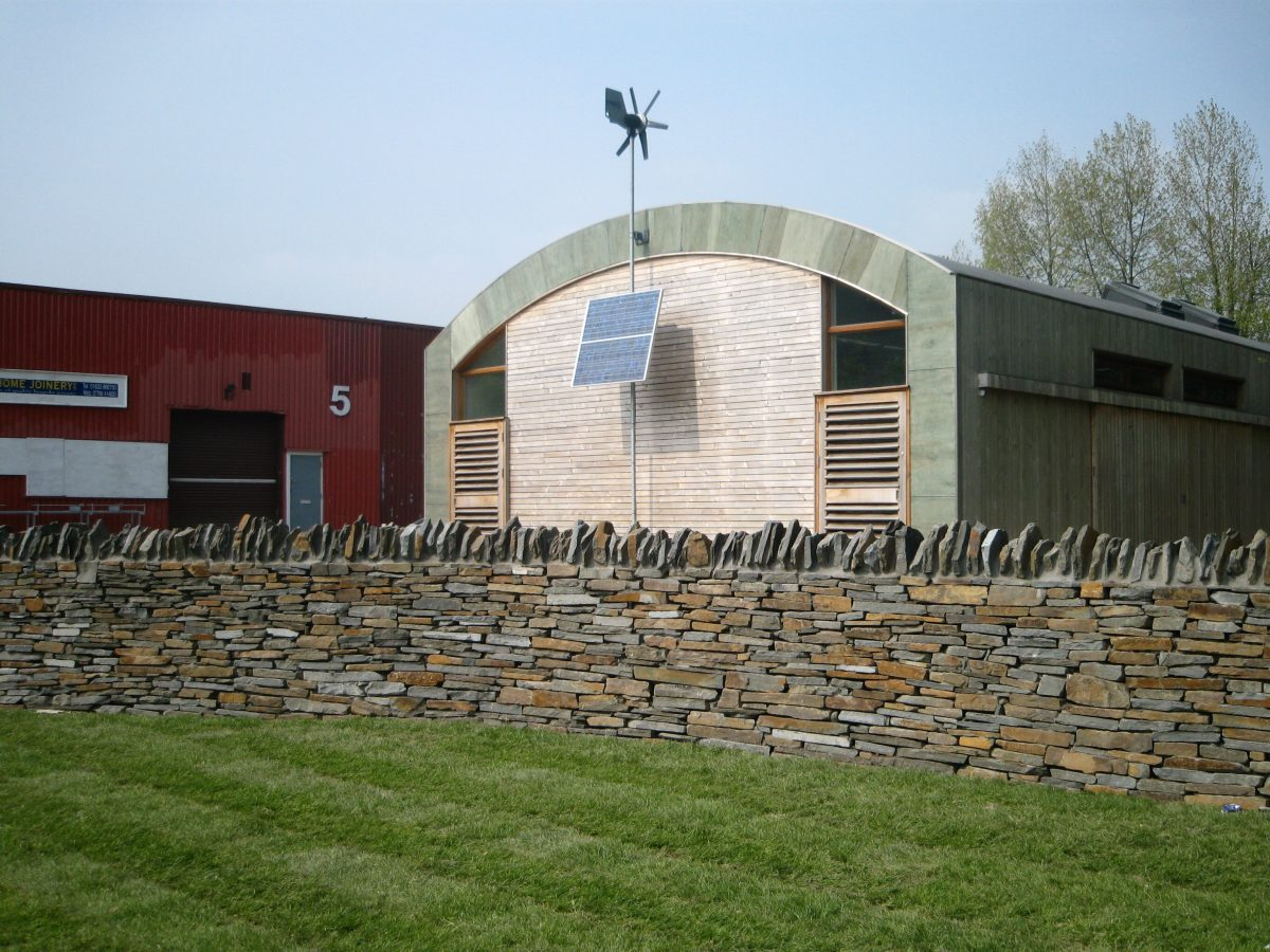 Eco-building landscaping 050