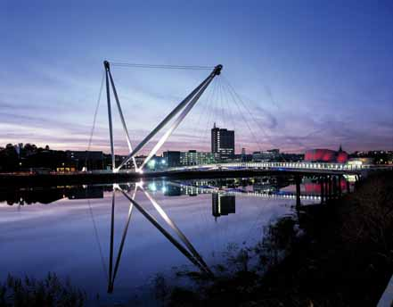 Newport City Footbridge 2
