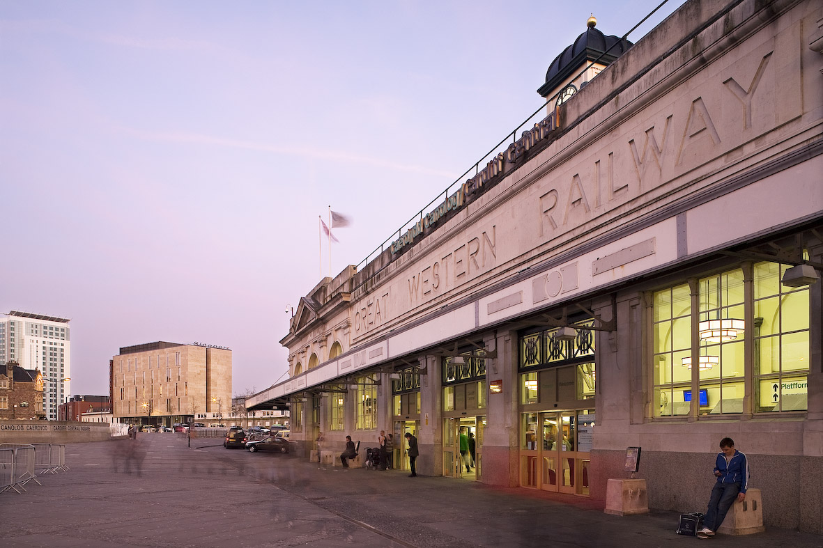 Cardiff Railway Station context