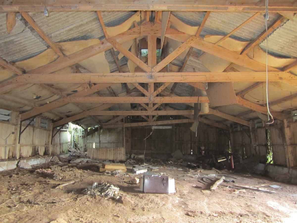 17 - The Chicken Shed - Before photo of interior