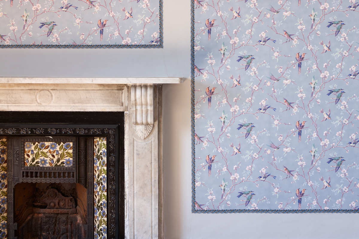 4_Cardigan-Castle_Purcell_RIBA2016_Wallpaper-and-Fireplace-after_-Phil-Boorman-2014