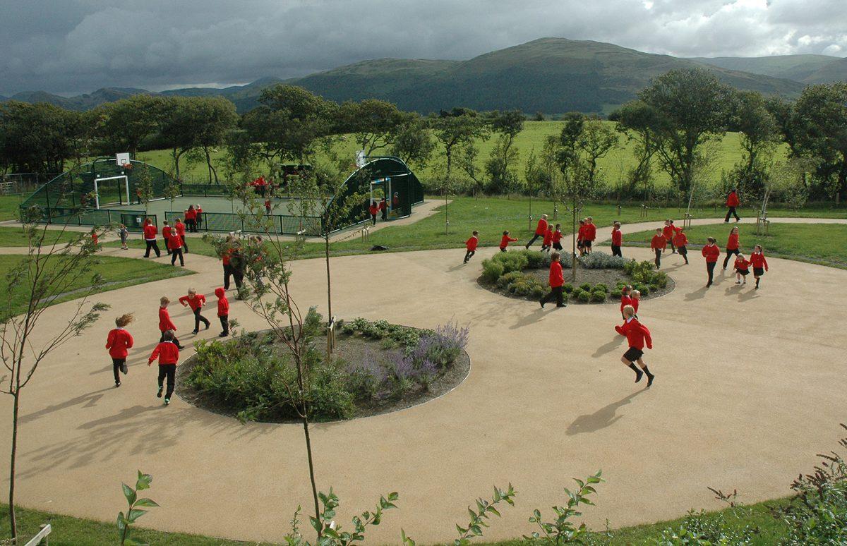 7. Gwynedd Council Craig y Deryn play area