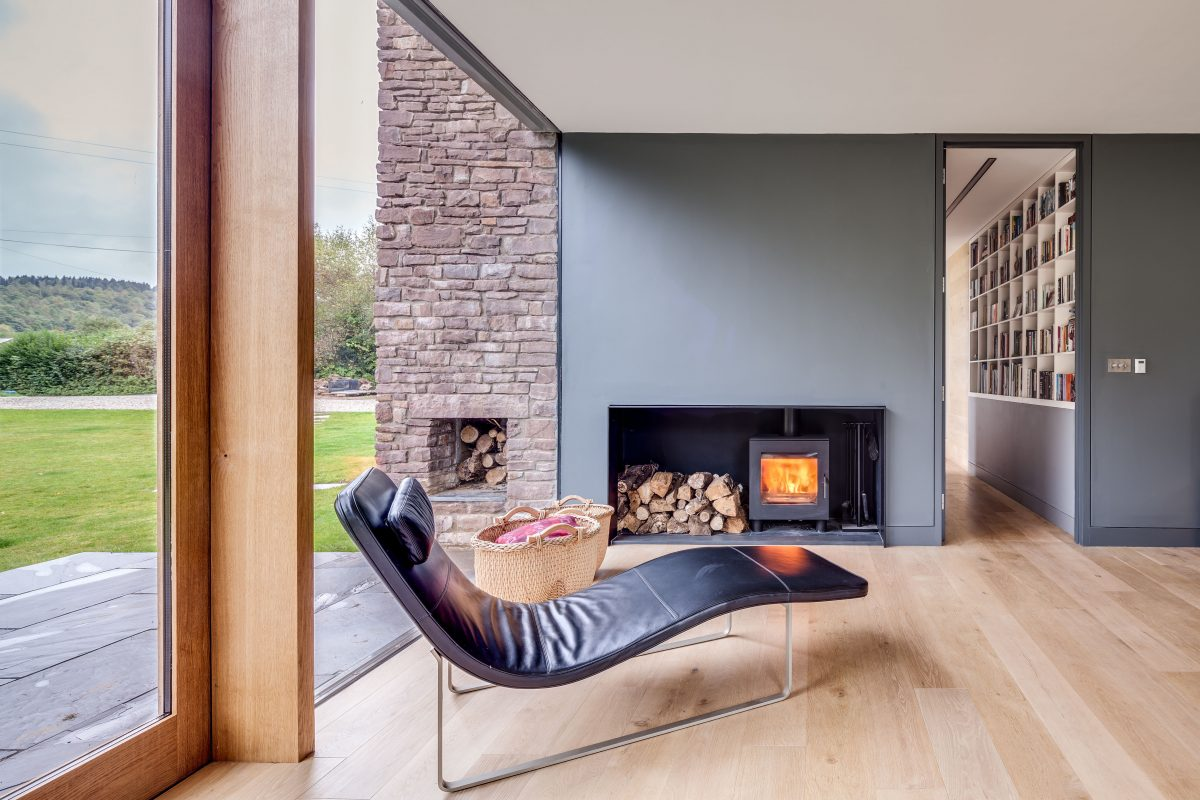 9. The Nook - Fireplace